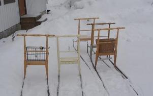 Det var trångt på sparkparkeringen vid församlingsgården i Mockfjärd i torsdags när Slink in hade sin träff.FOTO: PER EKLUND