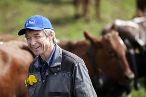Peter Edholm har brukat jordbruket ekologiskt i flera årtionden och ångrar inte att han valde den vägen. Foto: Jennie Johansson