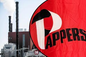 Kvarnsvedens pappersbruk i Borlänge . Foto: Christian Larsen