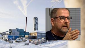 Håkan Jonsson, driftansvarig på Ljusdal energi, försäkrar att marken under personalbyggnaden är giftfri.