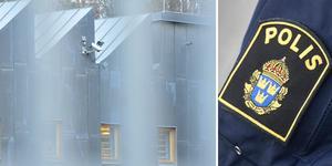 Arresten i Flemingsberg där den anhållne Södertäljebon sitter frihetsberövad. Foto: Johan Nilsson