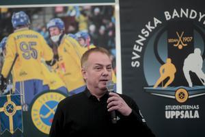 Per Selin är ligachef för Elitserien, och förklarar varför annandagsmatcherna ser ut som de gör. Bilden  är en arkivbild.
