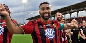 Saman Ghoddos ordnade ett pengaregn över ÖFK, som nu kommer som en tidig julklapp till klubben.