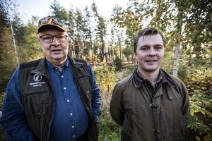 Ulf Berg och Filip Ånöstam berättar att förbundets medlemmar är med och inventerar men också att privatpersoner kan delta i inventeringen.