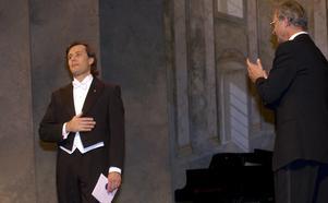 2003 blev Jon Nilsson blev den första vinnaren av operapriset Gösta Winbergh award. På lördag bjuder han på operapärlor i Hardemo kyrka. Foto Fredrik Sandberg/TT