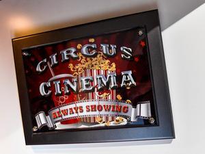 Hemmabion har en egen Facebooksida: Circus cinema.Foto: Jonas Ekströmer / TT