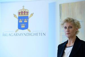 Åklagaren Christina Voigt. Arkivbild. Foto: Janerik Henriksson / TT