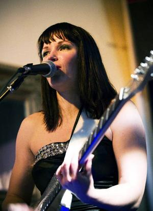 Finska blues-storheten Erja Lyytinen på CC-puben 2011.
