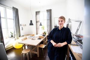 – Det går inte att beskriva vad det är att vara arkitekt, det kan vara allt eller inget. Det kan vara så himla mycket beroende på vad man är intresserad av, säger Anna Esbjörnsson.