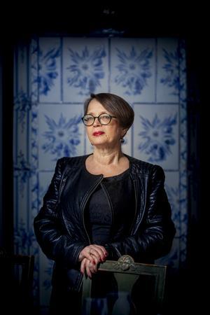 Carina Burman skriver om Bellman och en spännande tid i sin nya bok. Bild: Fredrik Hjerling
