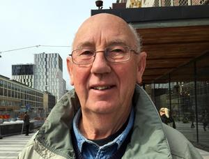 Hans Eriksson, 73 år, pensionär, Rimbo