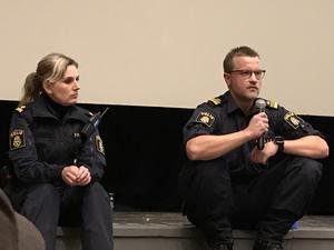 Petronella Hjertqvist och Jimmy Spolander besvarade publikens frågor.