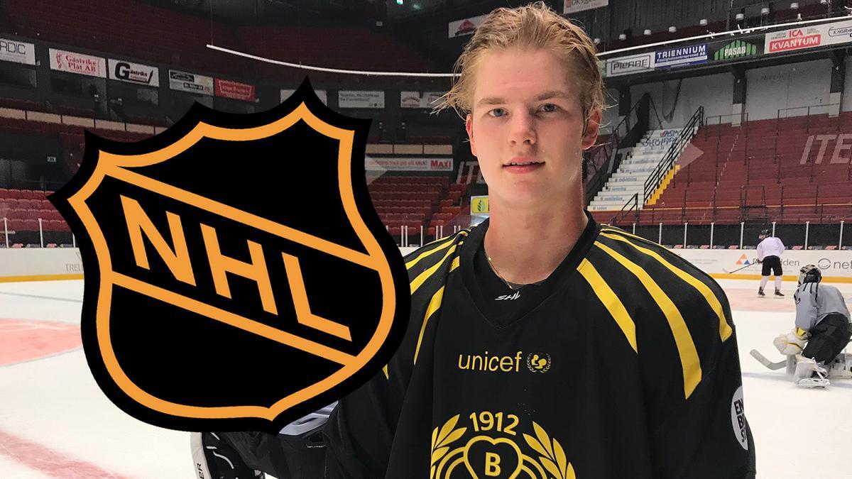 Victor Söderström kan bli fjärde brynäsare att gå i första rundan i NHL-draften – hoppas hamna i favoritlaget: