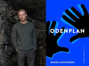 """Daniel Gustafsson blev Augustnominerad för sin roman """"Odenplan"""". Foto: Anna Lindberg"""