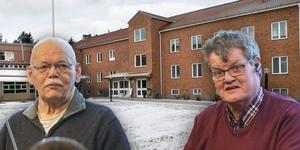 Hans Sundgren (M) och Lennart Gard (S) var inte överens om förslaget om samordna lokaler för bland annat hemtjänsten vid en ombyggnation av Åsgården. Hans Sundgren ville vänta in kommunens lokalöversyn och Lennart Gard ville klubba genom förslaget i fullmäktige.