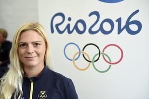 Frida Andersén inför OS 2016.