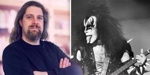 Alex Bergdahl kan det mesta om gruppen Kiss. Den 27 april kommer han till Ljusdal för en föreläsning.