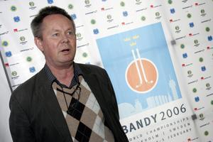 Rolf Käck jobbade i mitten av 2000-talet som sportchef på Svenska Bandyförbundet. Foto: Bertil Ericson/TT