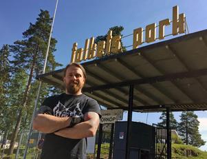Gamrocken arrangeras i Grängesberg Folkets Park efter att ha flyttat från Ludvika.