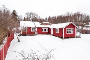 På bronsplats på Dalarnas Klicktoppen för vecka 1 hamnade denna villa i Gruvriset i Falun. Foto: Kristofer Skog, Husfoto