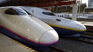 Höghastighetståget Shinkansen.
