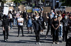 Från demonstration i Malmö.
