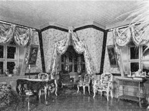 V. Hugo Wickströms rum i tornet på Kyrkgatan 48. Här tog han sitt liv 1907.