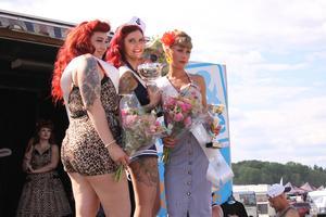 Trean Miss Bella Divine, vinnaren Miss Silver Freak och tvåan Miss Juicy Fruit.