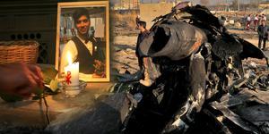 Shahram Tajik var en av 17 personer, bosatta i Sverige, som omkom i flygkraschen i Iran. Foto: Stefan Westrin/TT
