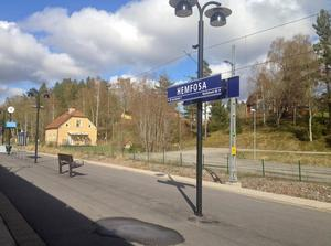 Hemfosa station.