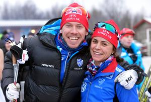 Emil Jönsson och Anna Haag ser fram emot semester.
