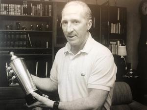 Vilgot Larsson i mars 1989. Foto: Arkiv.