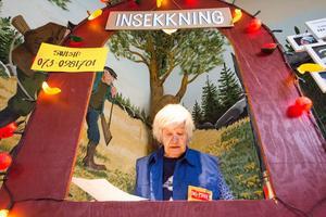 Ing-Marie Möller-Andersen såg till att gästerna checkade in som de skulle.