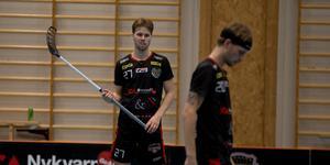 Kevin Rigogiannis gjorde tre poäng i Nykvarns förlust mot Craftstaden Oskarshamn.
