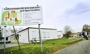 En plats vid skolan och sporthallen i Arbrå ha setts ut för en multisportarena.