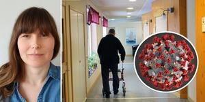 Bilder: Privat / Per Hansson. Maria Östlund, tillförordnad avdelningschef vård och omsorg, Bergs kommun.