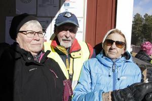 Maj Göransson, Alf Östberg och Ida Eriksson var nöjda med årets SM.