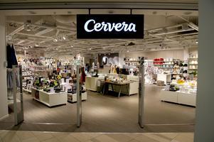 Cervera i In-gallerian stänger. Satsar på butiken i Birsta istället.