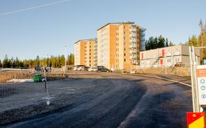 Den två första bostadshusen i bostadsområdet Byhöjden, Bosvedjan, har inflyttning i december.