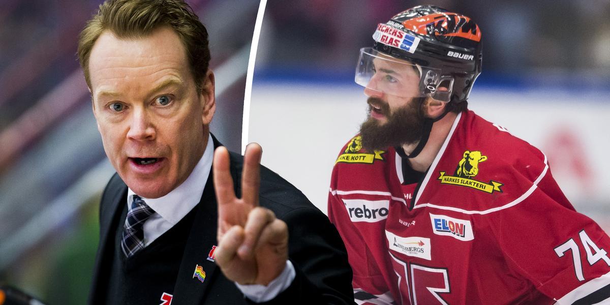 """Örebrotränarens samtal med Ebert: """"Han pratar mer i termer om att vinna något"""""""