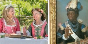 Elisabet och Ylva Eggehorn jobbar på ett nytt manus om Christopher Polhem, där publiken tas med till olika tidsepoker, bland annat till Gustav III:s 1700-tal. Foto: Helene Skoglund/NP, Wikimedia commons