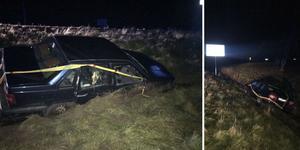Falubon tappade kontrollen över bilen efter att ha försökt köra ifrån polisen utanför Kumla. Nu döms han till fängelse.