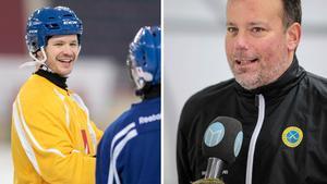 David Pizzoni Elfving kommer inte att spela mot Finland. Det bekräftar förbundskapten Svenne Olsson på söndagen.