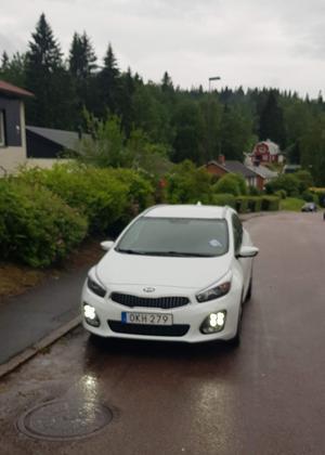 Såhär stod min bil parkerad, helt enligt reglerna, skriver insändarförfattaren. Foto: Privat/Tommy Landström