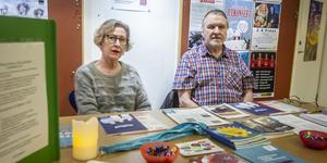 Lisbeth Karlsson och Hasse Nilsson från Söderhamns frivilliga samhällsarbetare har erfarenhet från att god man.