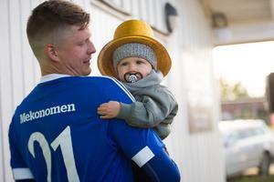 Adam Forsström är en av tre spelare i Matfors A-lag som gjort över tvåhundra matcher för klubben.