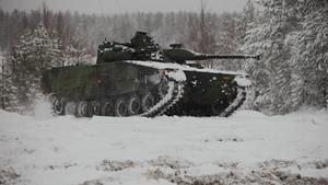 Stridsfordon 90. Foto: Mats Carlsson/Försvarsmakten