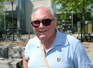 Christer Widahl från Gnosjö på plats.