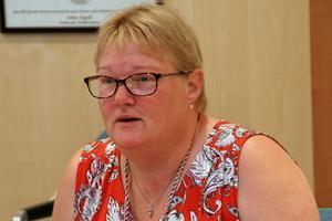 Att länsstyrelsen säger nej till byggnation i utpekade LIS-områden, gör Irene Jonsson (S), frustrerad.