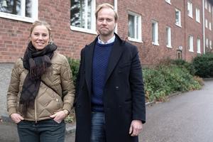 Emmy Vidlund och Magnus Jonsson är fjärde generationen ägare till Avorums-delen av familjeföretaget. Det var deras morfars far, Nils Ludvigsson, som startade företaget 1944. Foto: Privat